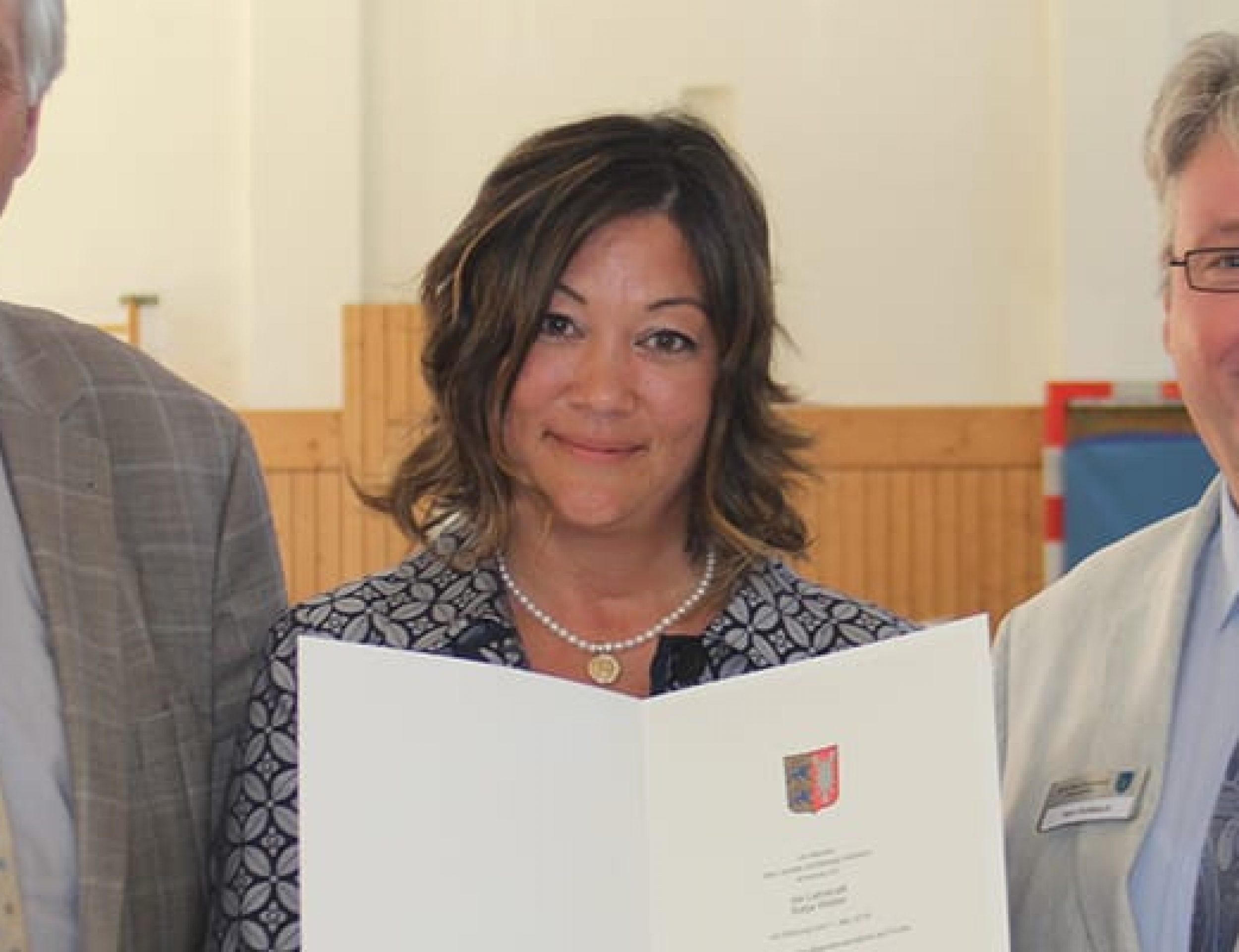 Amtseinführung der neuen Rektorin