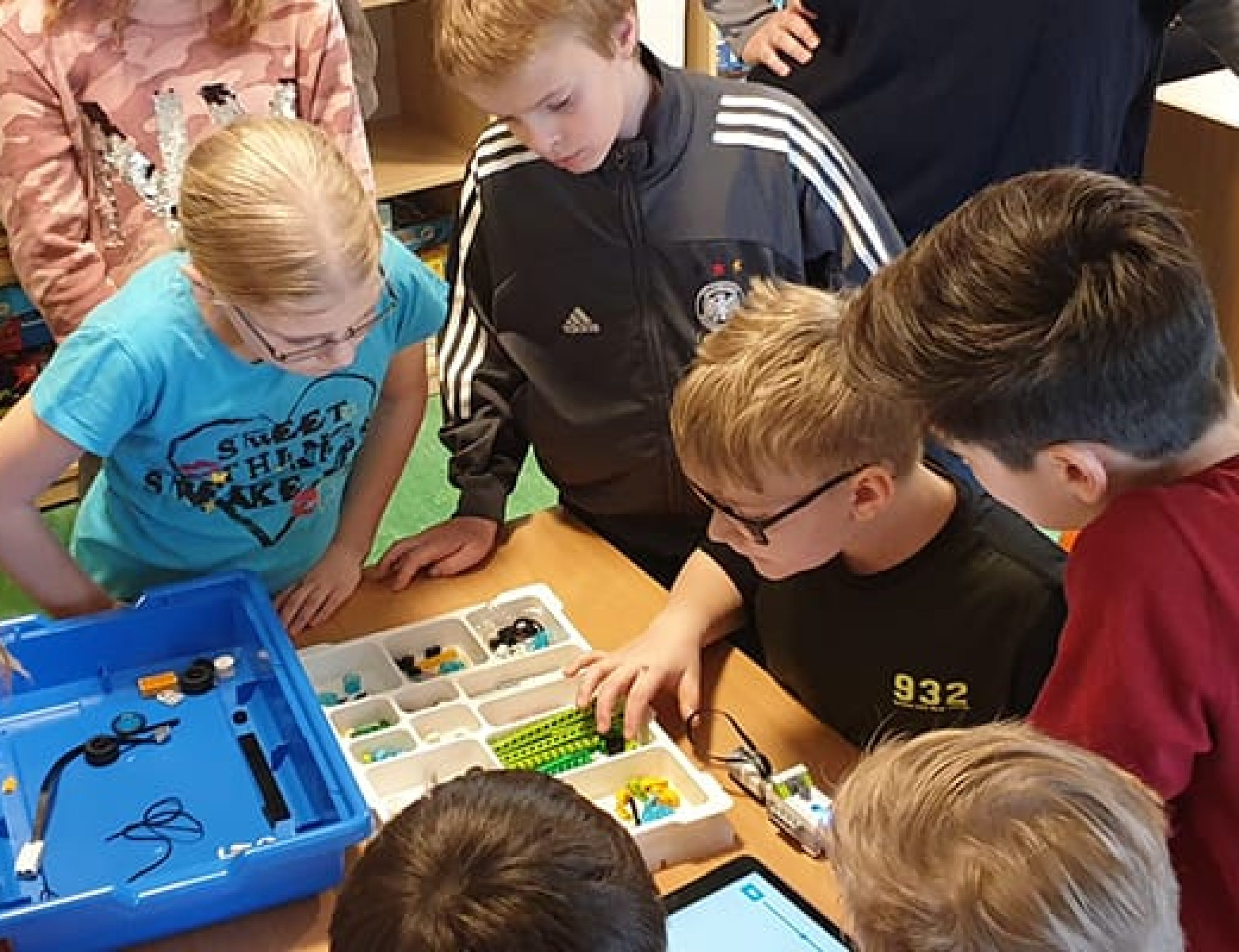 Projektpräsentationstag Lego Education